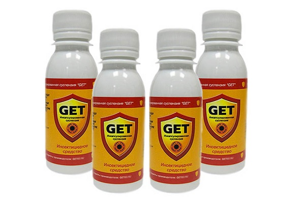 Препарат ГЕТ против постельных клопов