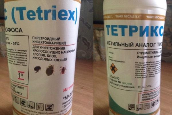 Эффективное средство Тетрикс против клопов