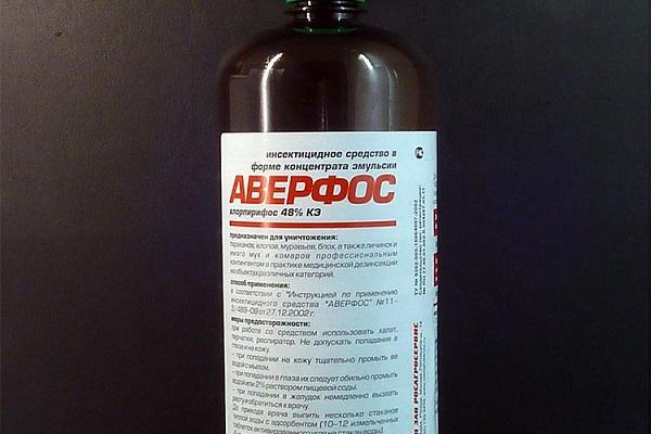 Препарат Аверфос от клопов